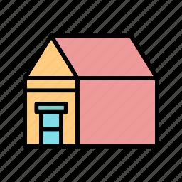 big house, castle, estate, home, house, palace, villa icon
