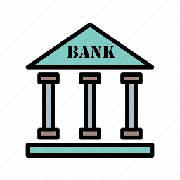 atm, bank, bank building, credit card, finance, money icon