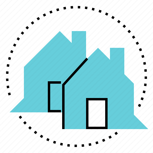 chat, consulting, conversation, house icon