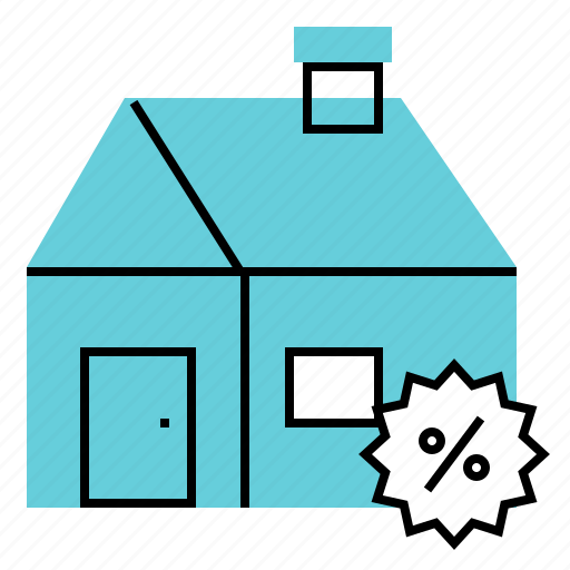 discount, home, house, price, promotion icon