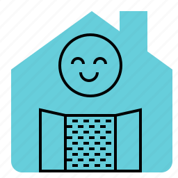 buy, door, house, landlord, open, rent, sell icon
