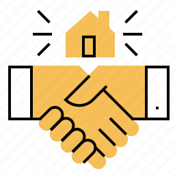 agree, deal, home, realtor, sale icon