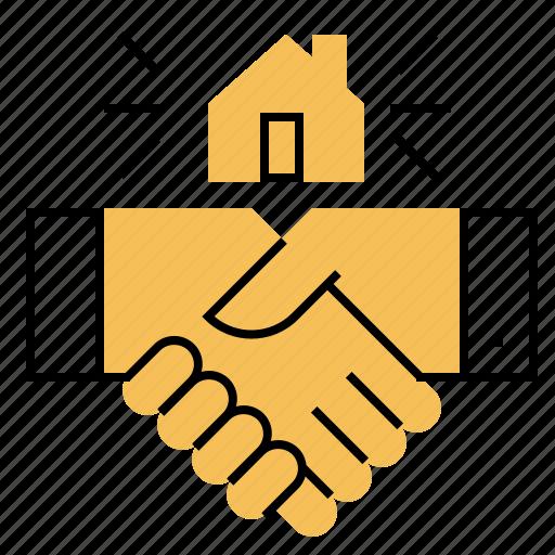 Agree, deal, home, realtor, sale icon - Download on Iconfinder