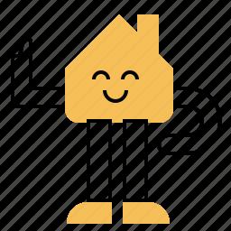 agent, estate, expert, guru, house, real icon