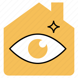 estate, home, house, inspector, real icon