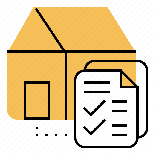 bank, document, form, housing, support icon