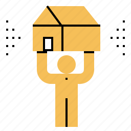 agent, estate, real, realtor, seller icon