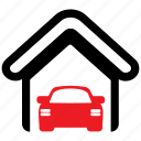 automobile, car, delivery, garage, service, vehicle icon