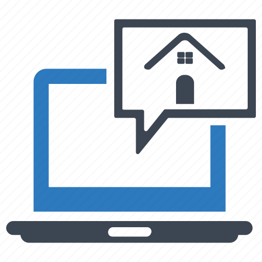 building, computer, find, home, house, search icon