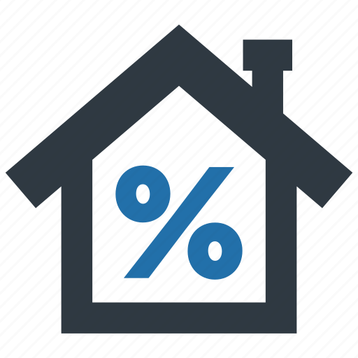 building, discount, estate, house, mortage, real, tax icon