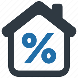 cash, discount, fee, house, mortage, payment, tax icon