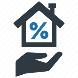 cash, fee, house, money, mortage, payment, tax icon