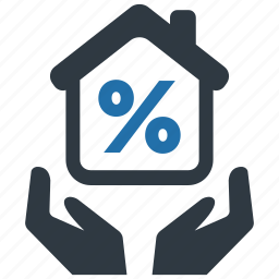 discount, fee, house, money, mortage, support, tax icon
