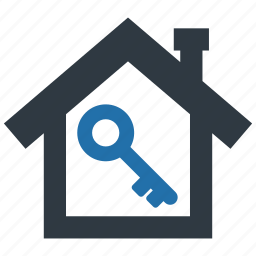 building, buy, estate, home, house, key, real icon