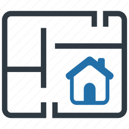 building, home, house, location, map, navigation, pin icon
