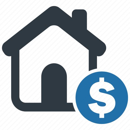 building, home, house, money, mortage, price, tax icon