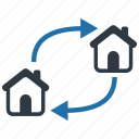 moving out, relocate, relocation, resettle