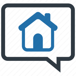 communication, consultant, dialogue, discussion, housing, negotiation, price icon