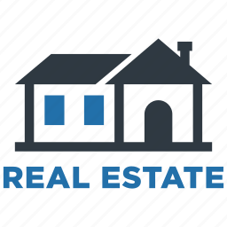 accommodation, apartment, building, estate, house, property, real icon