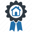 award, estate, real, home, house, prize, medal