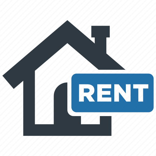 building, estate, for rent, home, house, property, rent icon