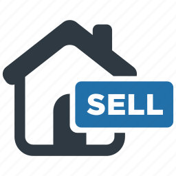 estate, home, house, property, real, sell, sold icon