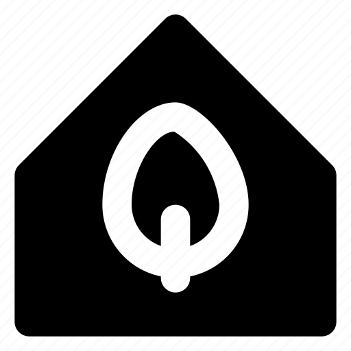 city, estate, home, house, housing, leaf, real icon