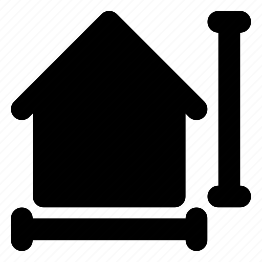city, estate, home, house, housing, real, scale icon