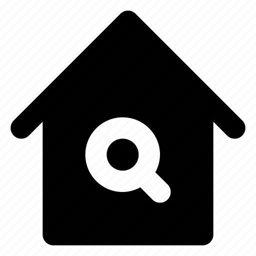 city, estate, home, house, housing, real, search icon