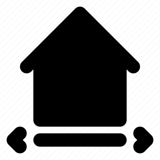 city, estate, home, house, housing, real, width icon