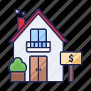 estate, rent, sale