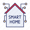 home, house, smart icon