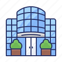 building, office, shopping mall icon