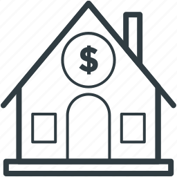 bank, bank building, banking, building, finance icon