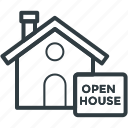 advertising, building, new home, open house, resident