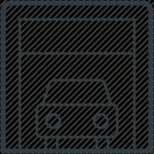 Automobile, car garage, car repair, garage service, vehicle icon - Download on Iconfinder
