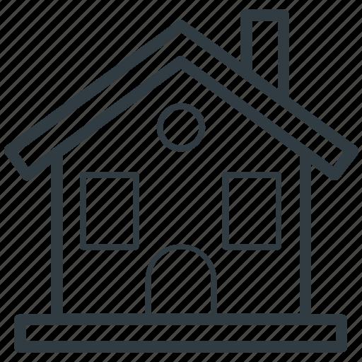 home, house building, hut, shack, villa icon