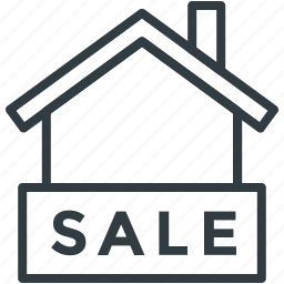 for sale estate, for sale sign, home for sale, property sale, real estate sign icon