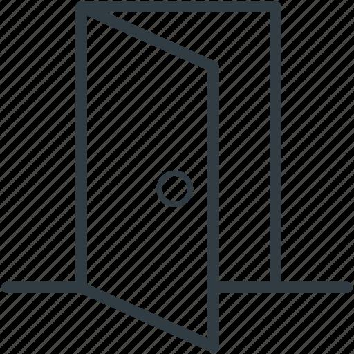 door doorway entryway house door opened door icon  sc 1 st  Iconfinder & Real Estate Vector Line 2\u0027 by Vectors Market
