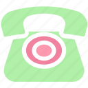 business, call, landline, office, old, phone, telephone, vintage icon
