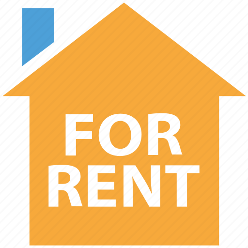 for rent, info, information, real estate icon