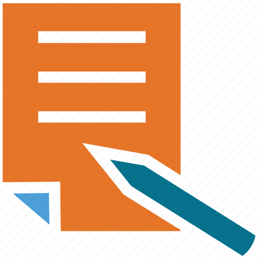 document, documentation, edit, pen icon