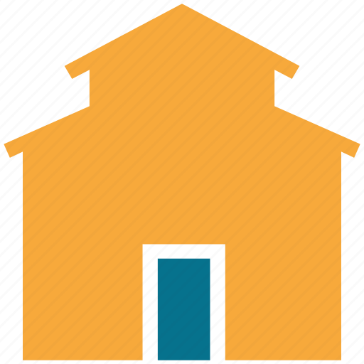 house, office, real estate, shack icon