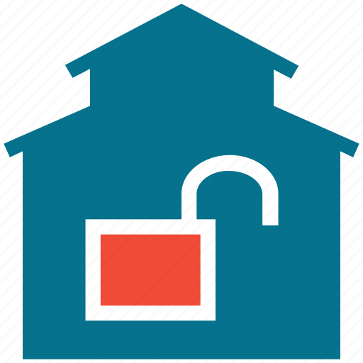 house lock, real estate, safe, secure icon