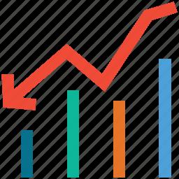 analytic, chart, graph, statistics icon
