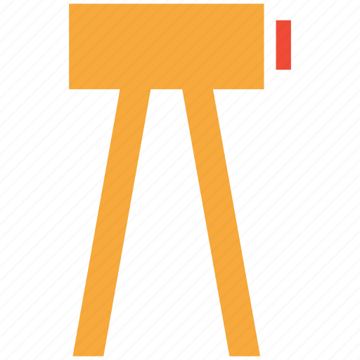 survey theodolite, theodolite, tripod, tripod stand icon