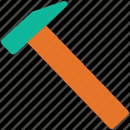 equipment, hammer, repair tool, tool icon
