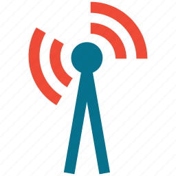 antenna, rss, signals, wifi icon