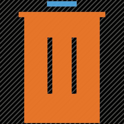 bin, dustbin, recycle bin, trash icon