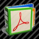 binder, documents icon